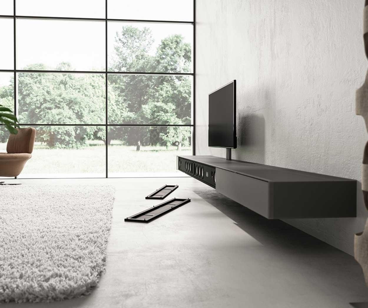 Kast Onder Tv.Zwevende Tv Meubels Top Kwaliteit Van Spectral Nl
