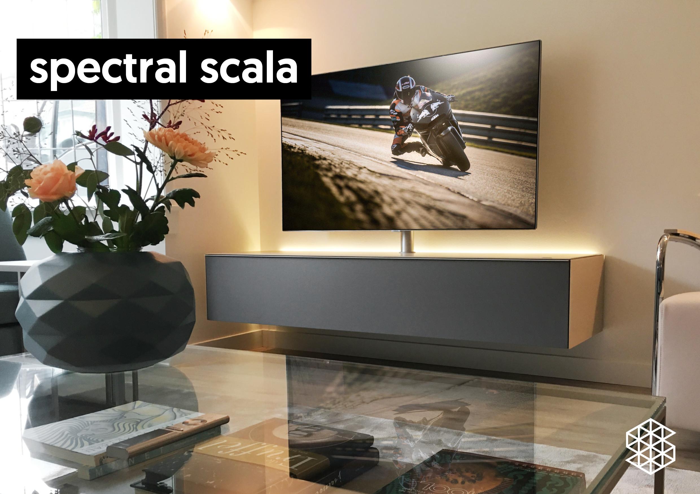 Zwevend Tv Meubel Notenhout.Zwevende Tv Meubels Top Kwaliteit Van Spectral Nl