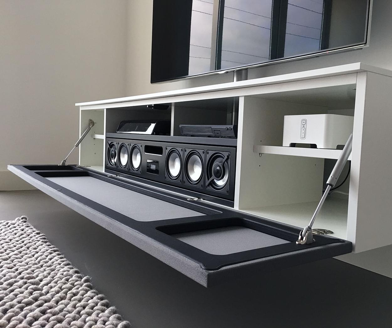 next tv-meubel op maat inclusief soundbar