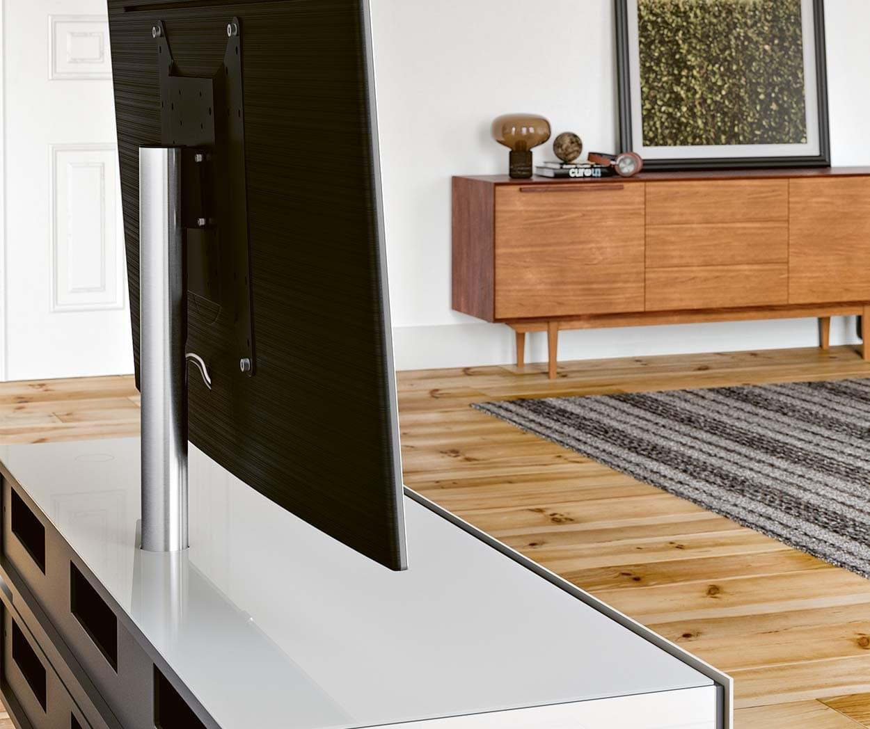 Glazen Tv Meubel Draaibaar.Spectral Brick Soundbar Tv Meubels Spectral Nl