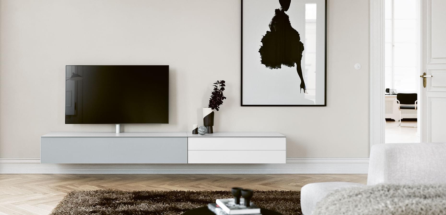 spectral scala zwevend tv meubel. Black Bedroom Furniture Sets. Home Design Ideas