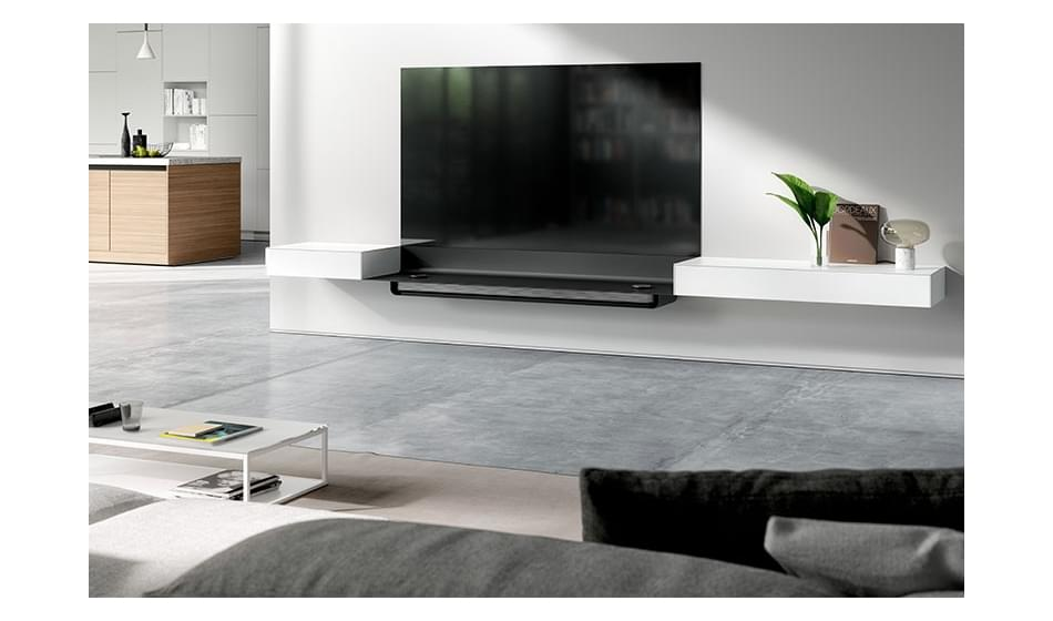 LG Oled W8 Signature Tv vs SPECTRAL Air Signature design tv-meubel