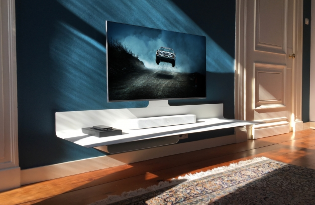 zwevend tv meubel Spectral Air White