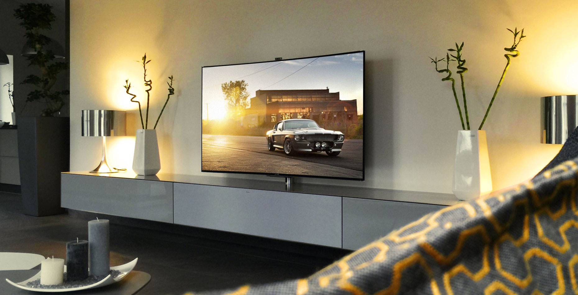 spectral ameno zwevend tv-meubel hoogglans