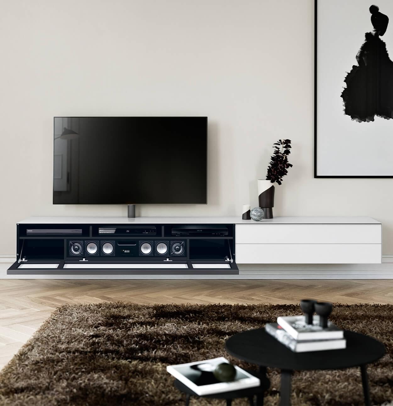 Spectral Scala zwevend soundbar tv meubel