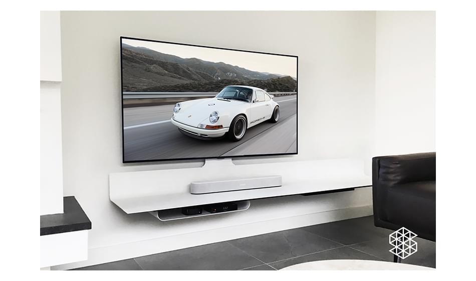 De ideale hoogte voor een zwevend tv-meubel.